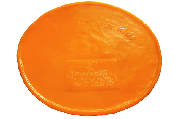 Pizza en Silicone Orange