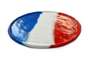 Pizza en Silicone Drapeau de la France